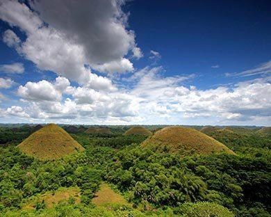 Chocolate hills en quads