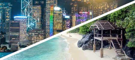 Viaje para dos a Hong Kong y Filipinas